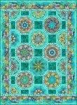 Calypso One-Fabric Kaleidoscope Pattern