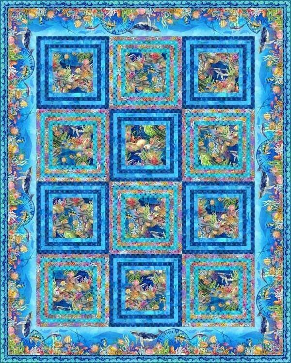 Calypso Odyssey Quilt Pattern by Jason Yenter