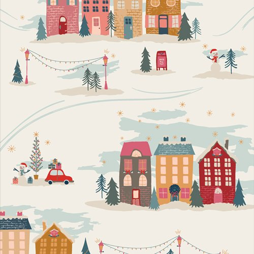 Christmastide Town Cozy & Magical by Maureen Cracknell for AGF