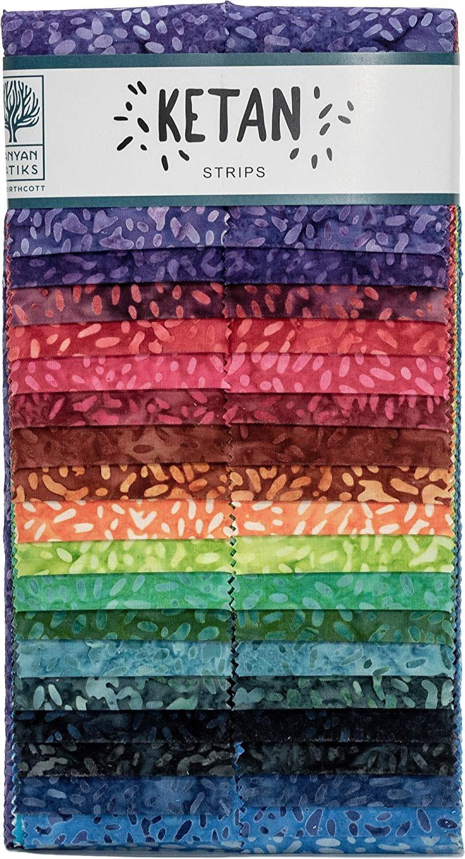 Ketan Confetti 2.5 Strips Banyan Batiks