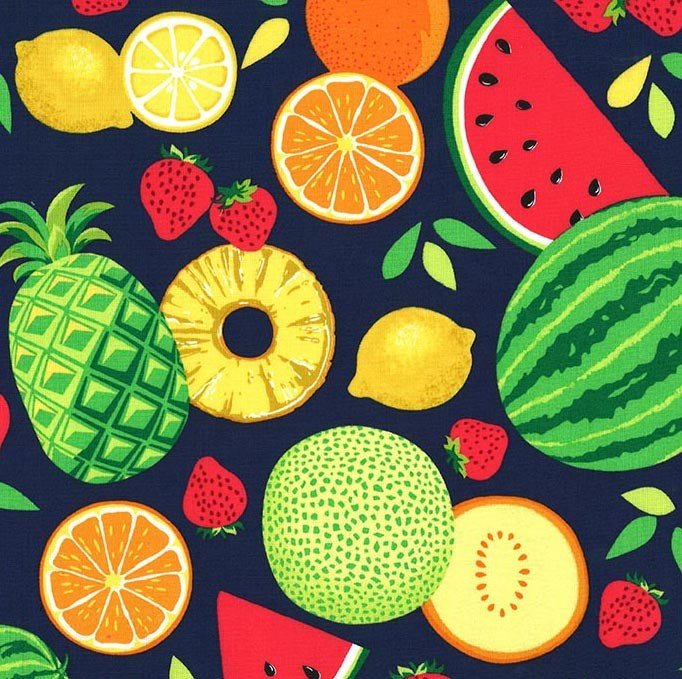Sew Fruity Fruit Toss CX8518-TROP-D Michael Miller
