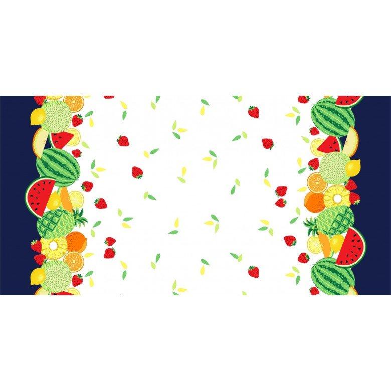 Sew Fruity- Double Border CX8519-TROP-D by Michael Miller