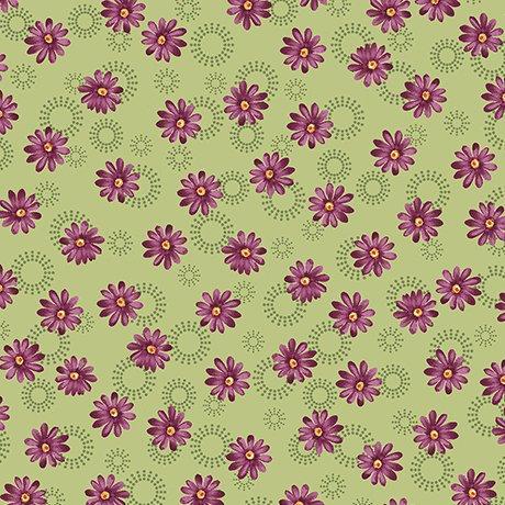 Quilting Treasures/Sophia/1649-26073-H Daisey Green