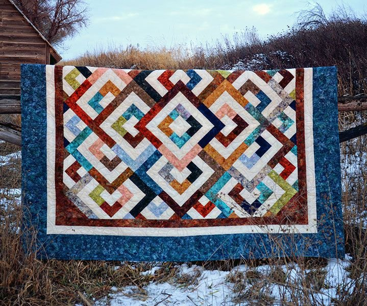 Diamond Double Quilt Kit