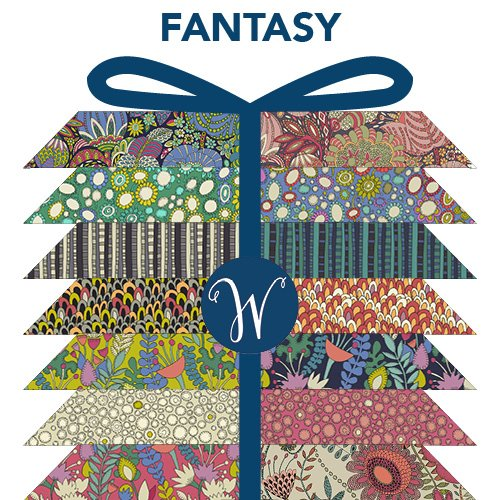 Fantasy Fat Quarter Bundle by Sally Kelly for Windham