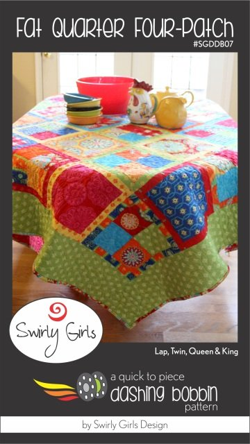 Fat Quarter Four-Patch SGDDB07