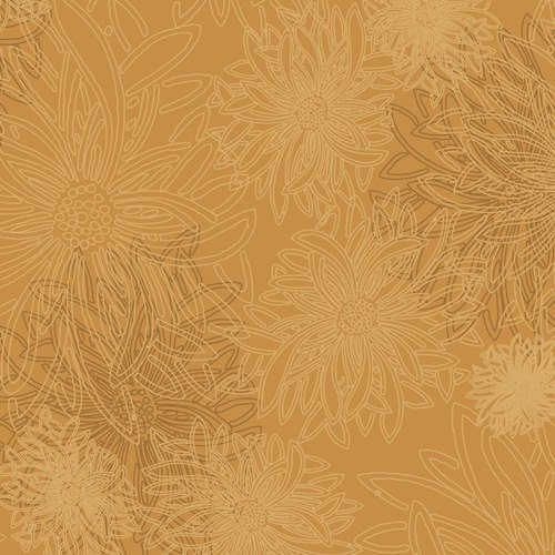 Art Gallery/Floral Elements/FE-513 Honey Mustard
