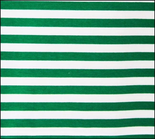 Euro Green White Stripe