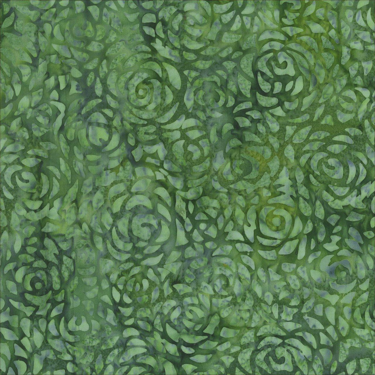 Anthology Wide Back Batik Print 601Q Pine