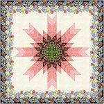 Benartex Indian Paintbrush Star Pattern AQ262PT
