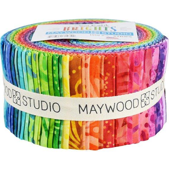 Java Batik 2-1/2in Strips 40pcs Maywood