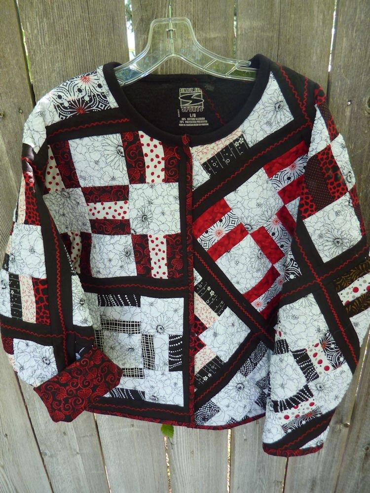 Jelly Roll Jacket Pattern