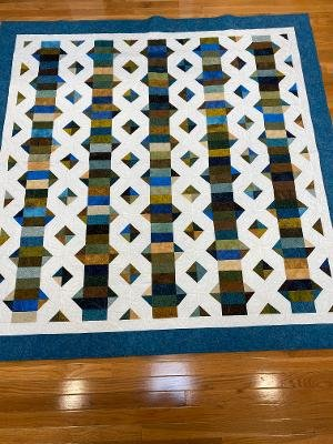 Kissing Coins Quilt 75 x 75