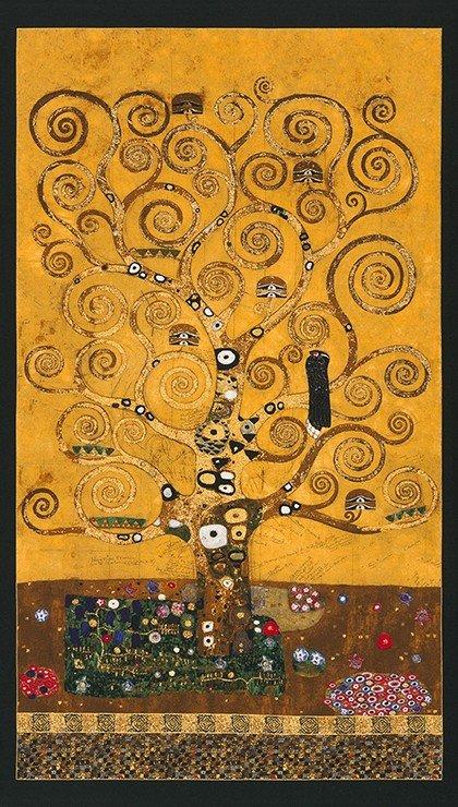 Kaufman Gustav Klimt Panel SRKM-17180-133 Gold