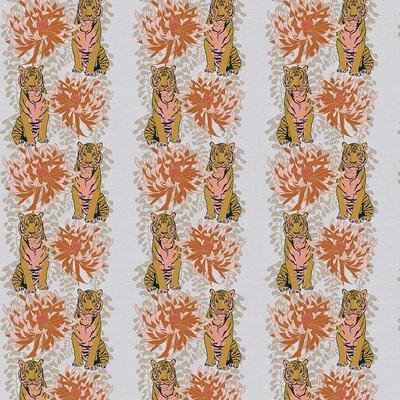 Tiger Lily Trail Pink/Gold Stripe