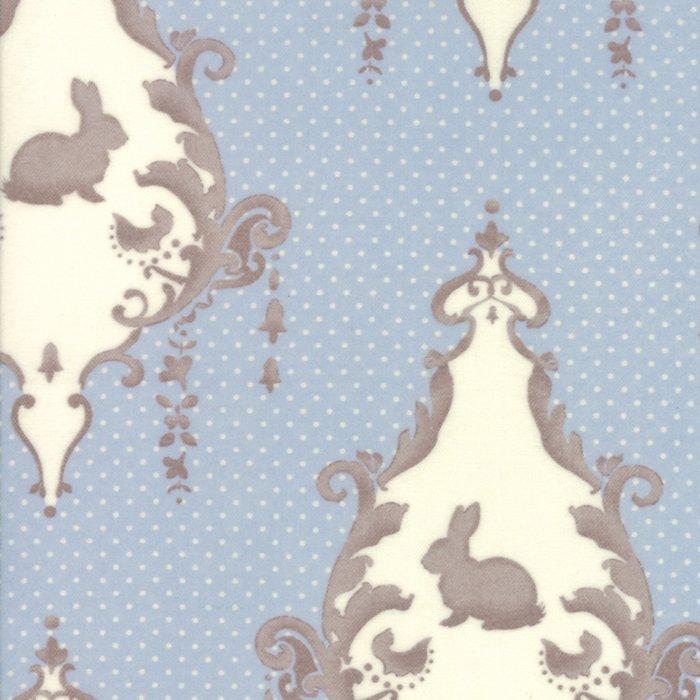 Moda/Lily & Will Flannel/2800 22F Blue