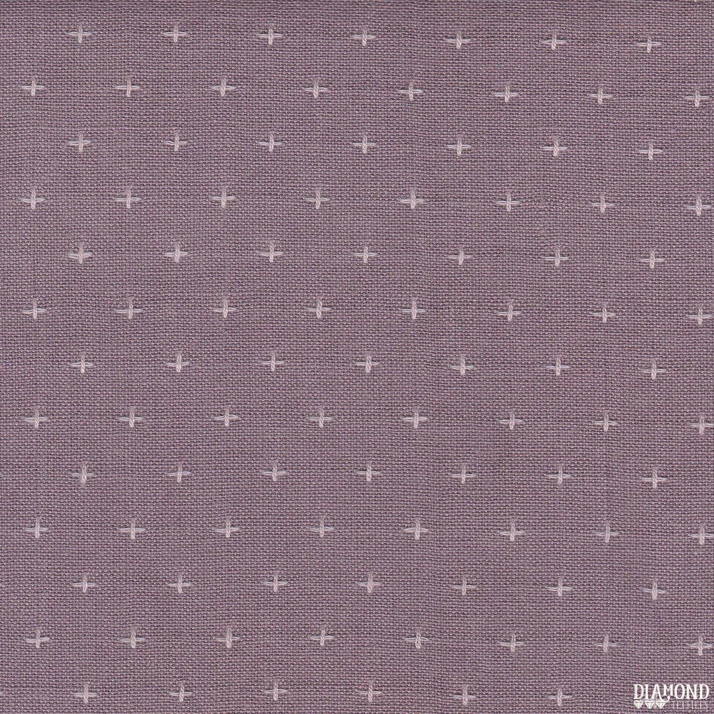 Diamond Textiles/Manchester 3148/Pinkish Purple with cream stitching