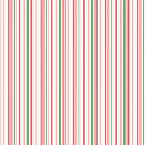 Berries & Blossoms/MAS8837-P Thin Stripe