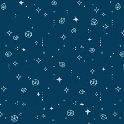 Moongate Asteroids Navy by Maywood