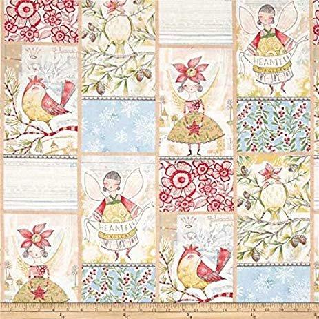 Cori Santini Merry Stitches Panel