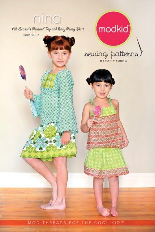 Nina Top and Skirt