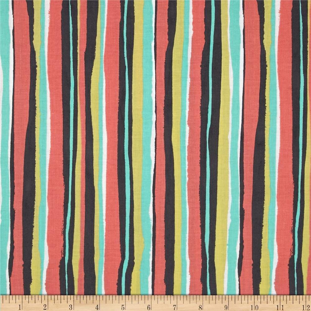 Michael Miller/Palm Stripe/CX6894-CORA-D