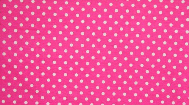 Euro Pink Princess Small Dots #