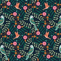 Our Planet Birds on Leaves 1737 by Dashwood