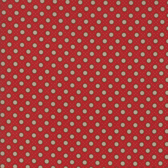 Moda/Petites Maisons de Noel/13797 11 Rouge