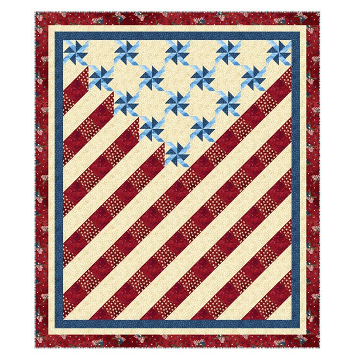 Home of the Brave Quilt Pattern