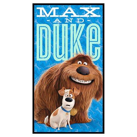 Quilting Treasures/Secret Life Of Pets/1649 24759 Max & Duke Panel