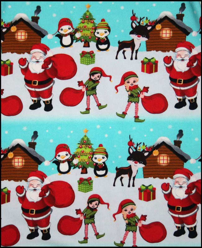 Euro Santa & Friends Knit #250