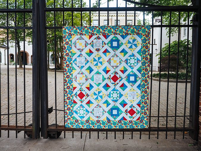 Sweet Summertime Quilt Kit