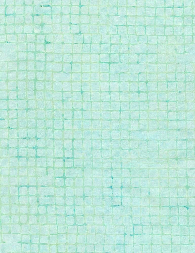 Tonga Grid Mint by Timeless Treasures