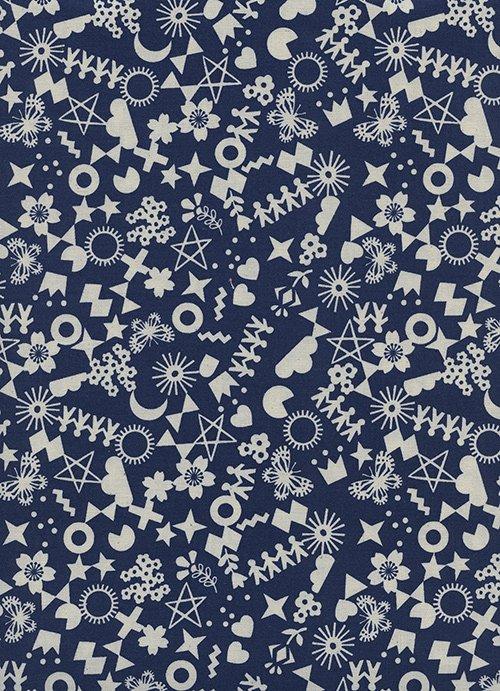Cut It Out/Navy Unbleached: Paper Cuts (Rashida Coleman-Hale)