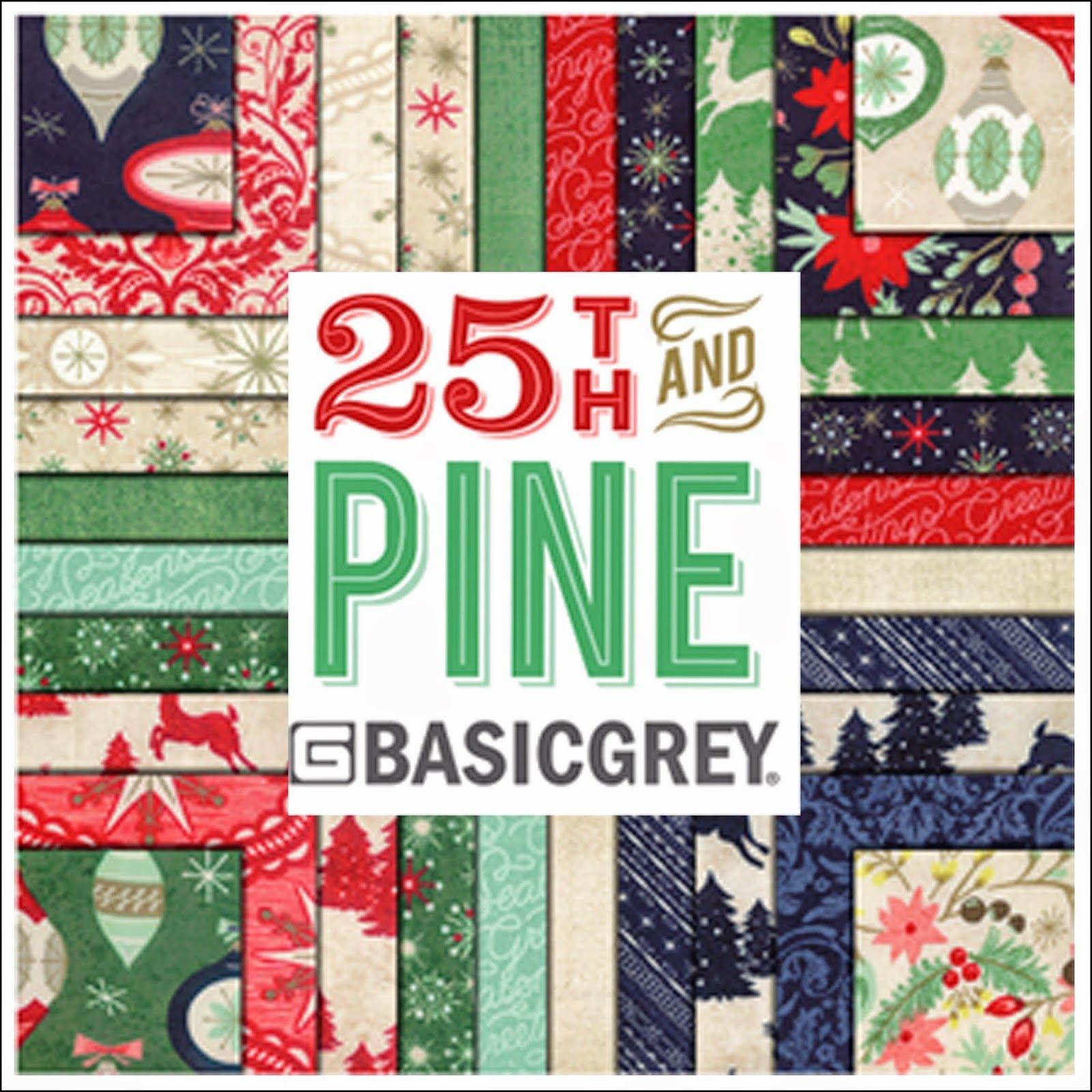 25th & Pine FQB (40 pcs) (Basic Grey)