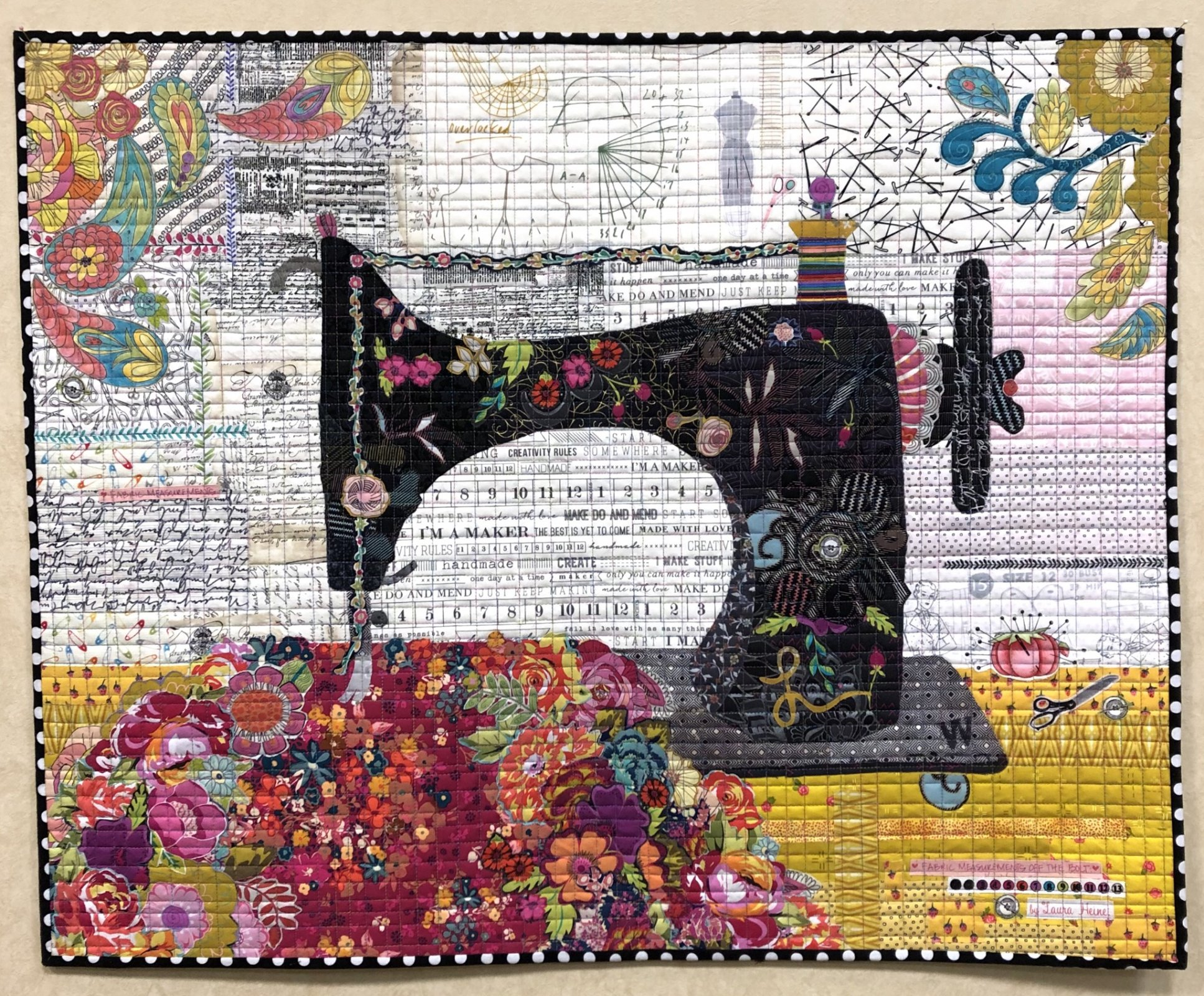 Featherweight: The Sewing Machine (Laura Heine) 26 x 32