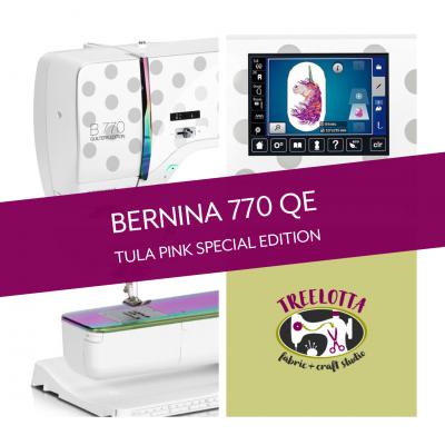 Bernina 770 QE SE Tula Pink