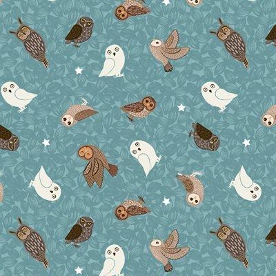 Glow Owls/Blue: Nighttime in Bluebell Wood (Lewis & Irene)