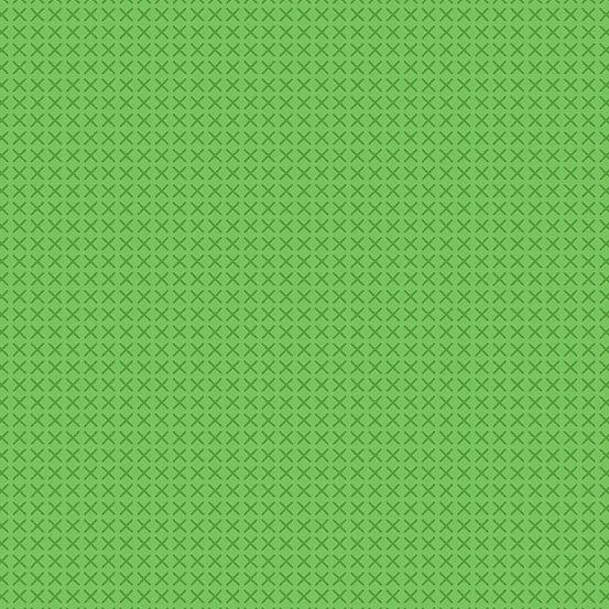 A-9254-G/Green: Cross Stitch (Alison Glass)