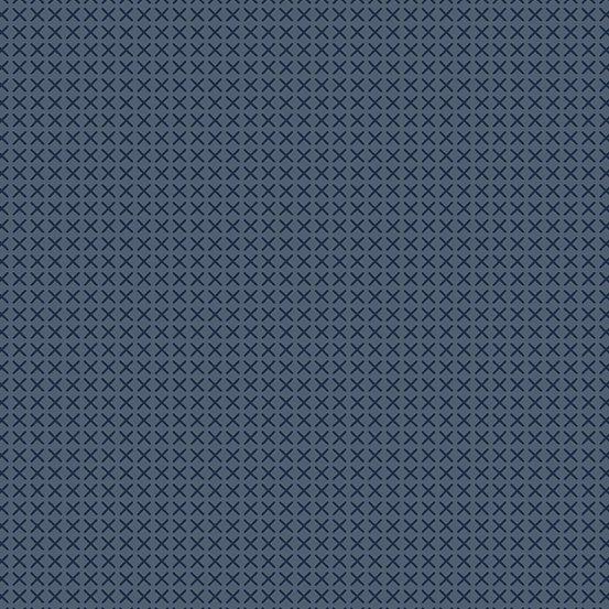 A-9254-K1/Slate: Cross Stitch (Alison Glass)
