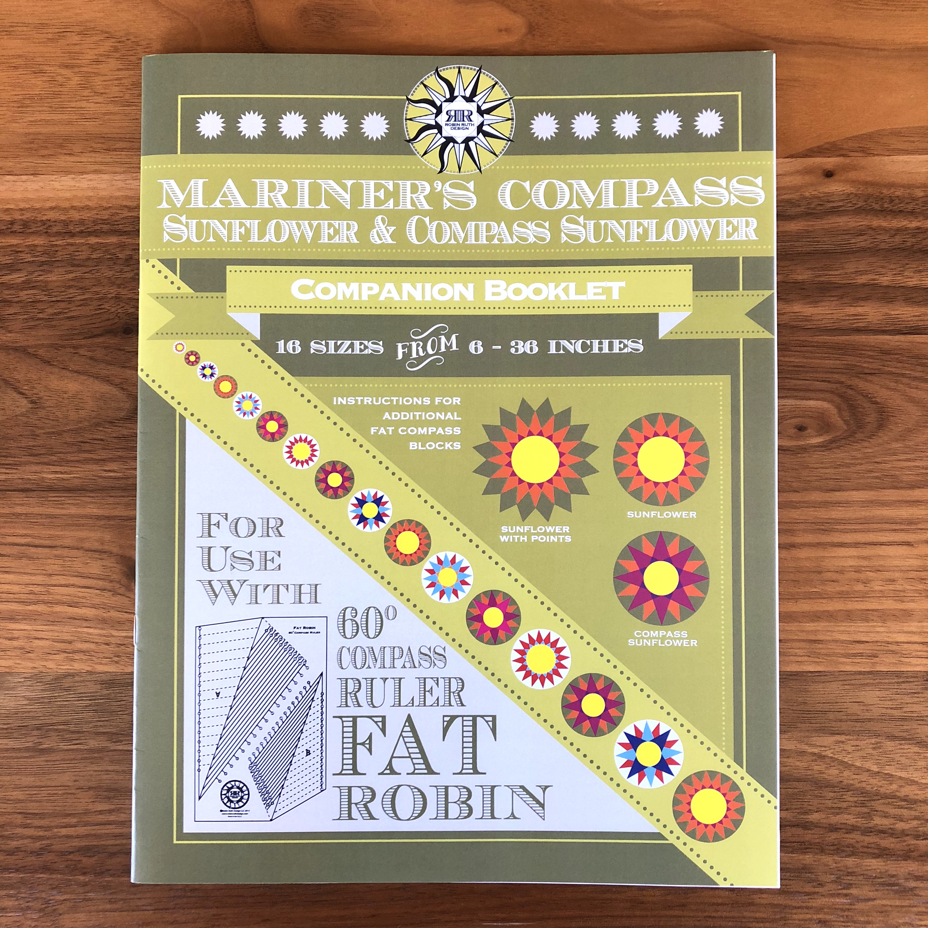 Fat Robin Mariner's Compass Companion Booklet (Robin Ruth Design)
