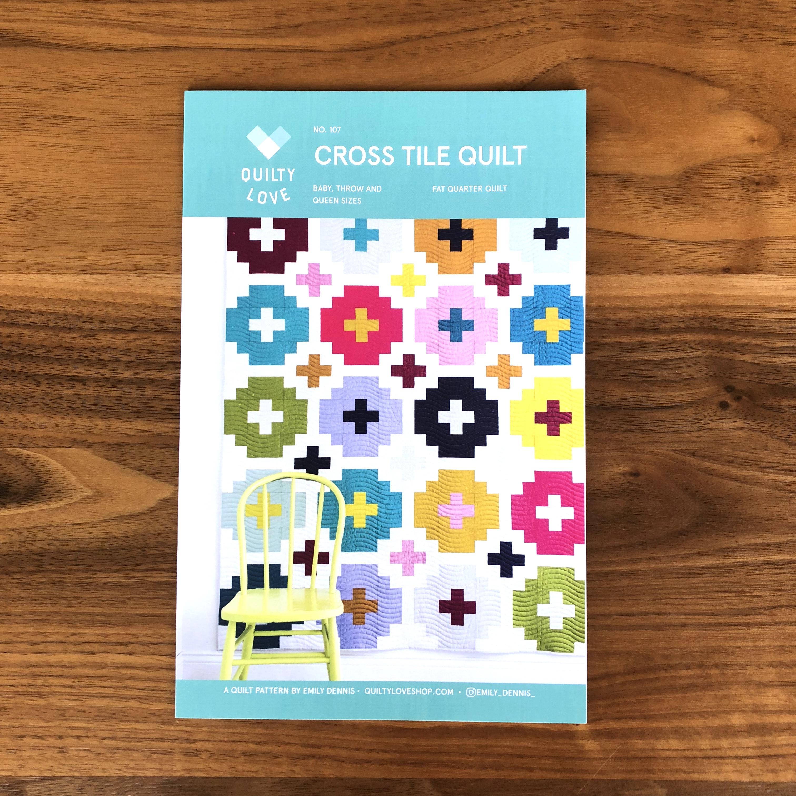 Cross Tile Quilt (Quilty Love)