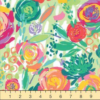 Green Tea: Painted Garden (Crystal Manning)