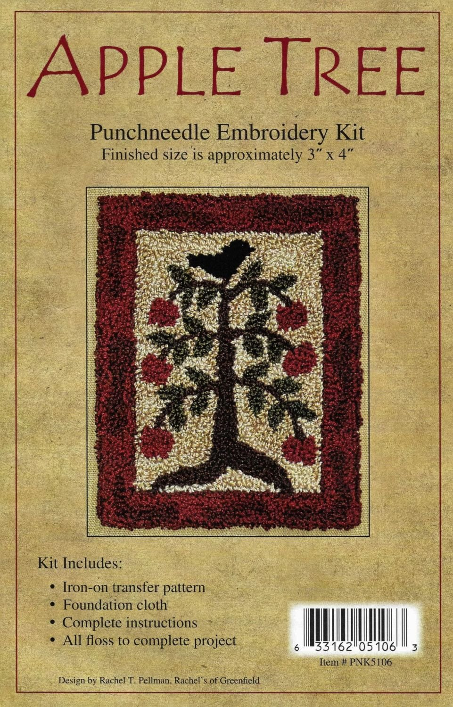 Apple Tree - Punchneedle Embroidery Kit