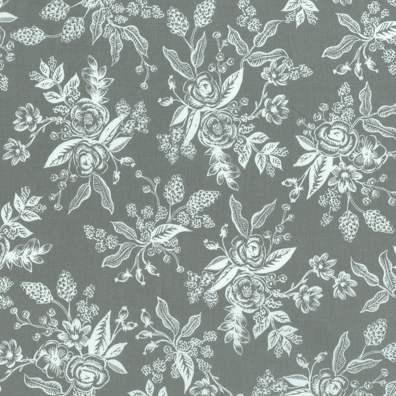 Toile/Gray: English Garden (Rifle Paper Co.)