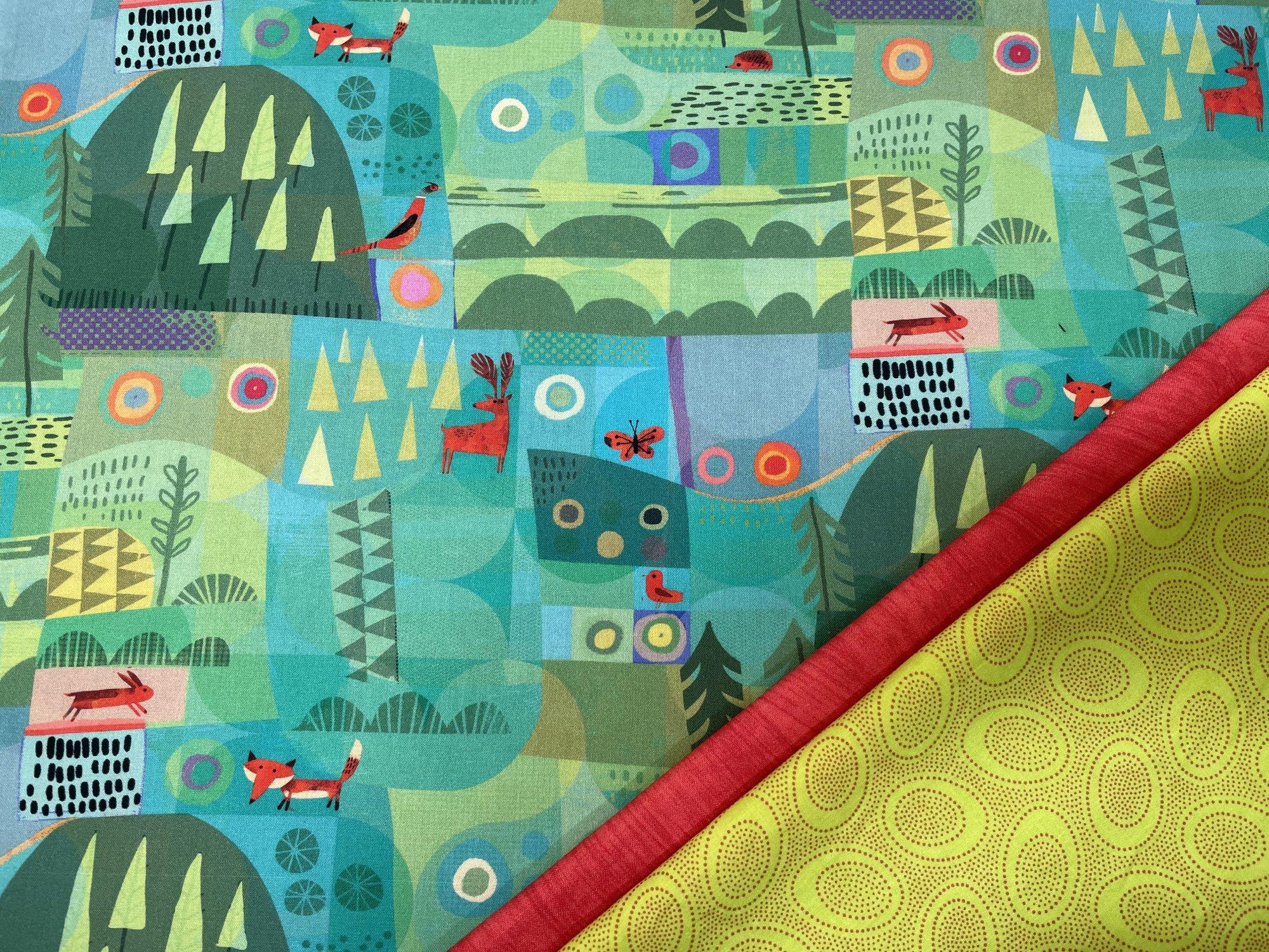 Pillowcase Kit (All Sizes)/Green Forest (Treelotta)