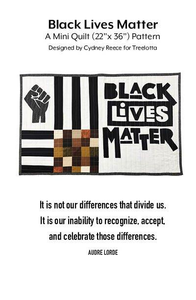 Black Lives Matter Mini-Quilt Kit (Cydney Reece)