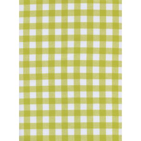 Checkers (1/2 Woven Gingham)/Citron