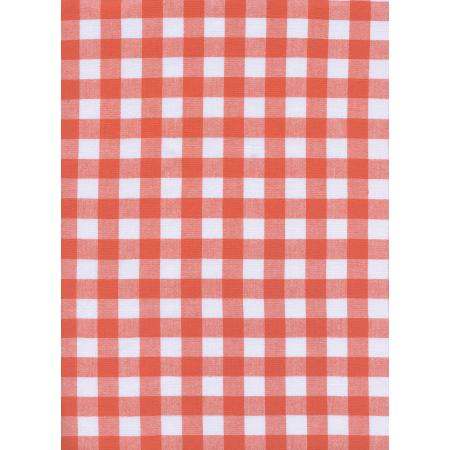 Checkers (1/2 Woven Gingham)/Coral